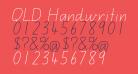 QLD Handwriting Font