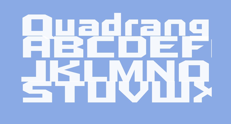 Quadrangle-Regular