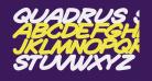 Quadrus Semicond Bold Italic
