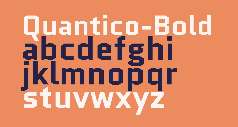 Quantico-Bold