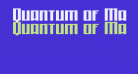 Quantum of Malice Regular