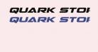 Quark Storm Expanded Italic