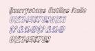 Quarrystone Outline Italic