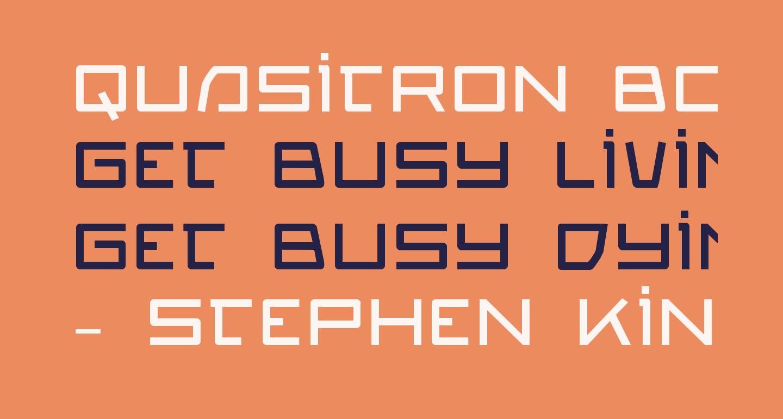 Quasitron Bold