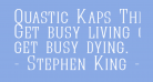 Quastic Kaps Thin