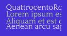 QuattrocentoRoman