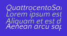 QuattrocentoSans-Italic