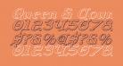 Queen & Country 3D Italic