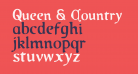 Queen & Country Condensed