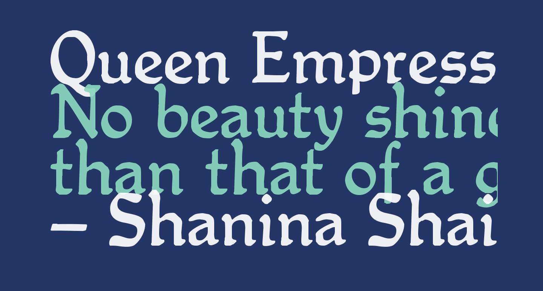 Queen Empress