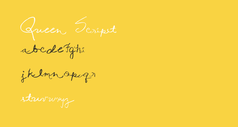 Queen Script