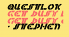 Questlok Italic