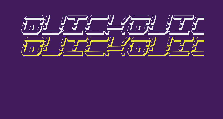 QuickQuick Shadow ItalCondensed