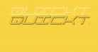 QuickTech Shadow Italic