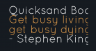 Quicksand Book Regular