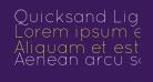 Quicksand Light Regular