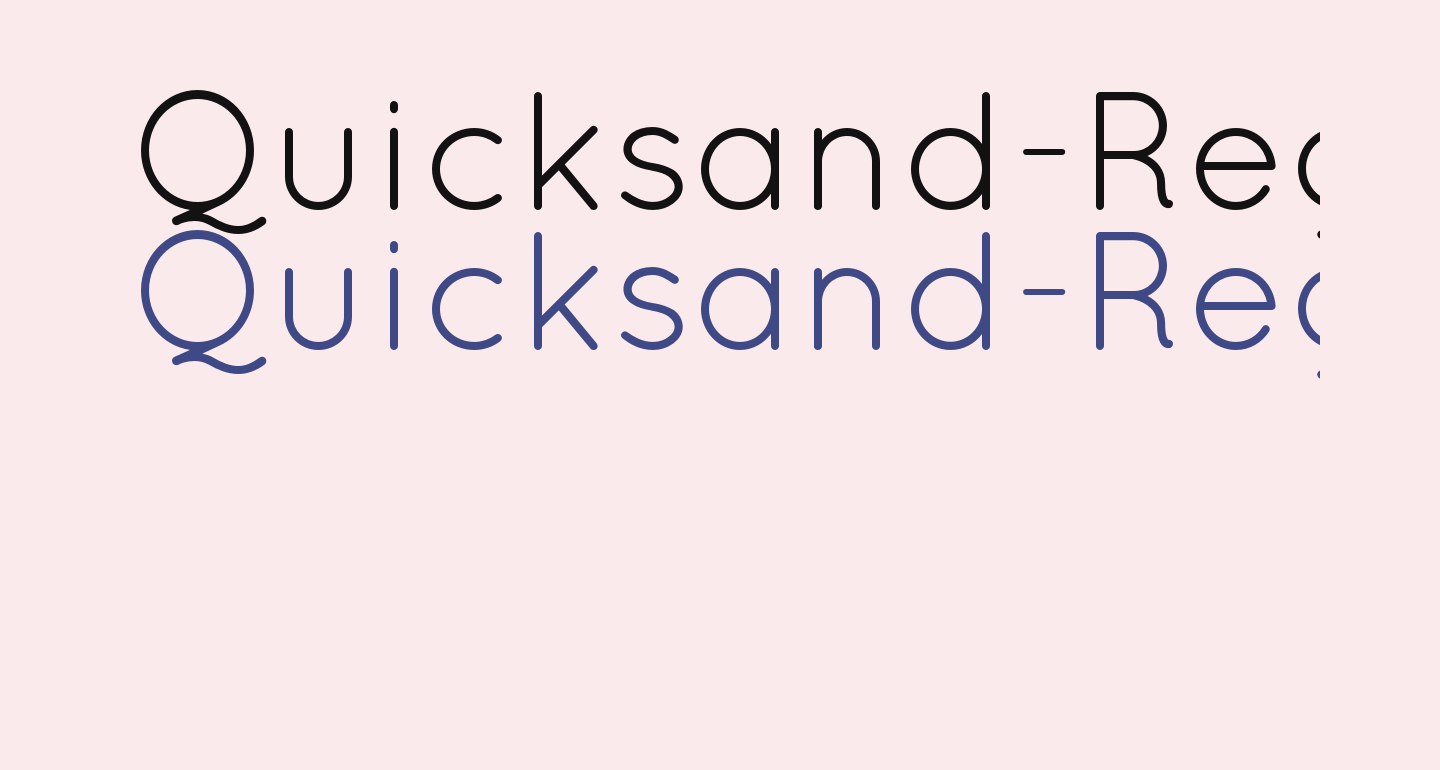 Quicksand-Regular