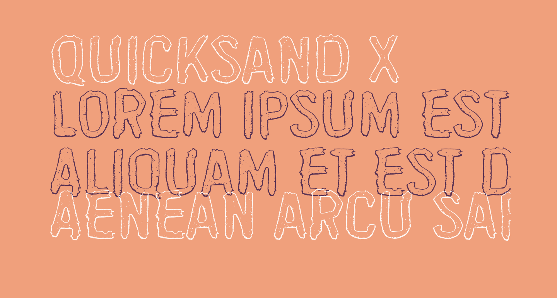 Quicksand x