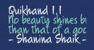 Quikhand 1.1