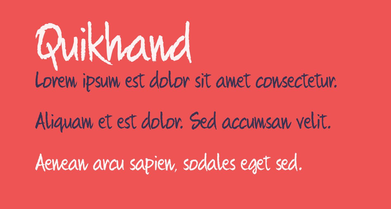 Quikhand