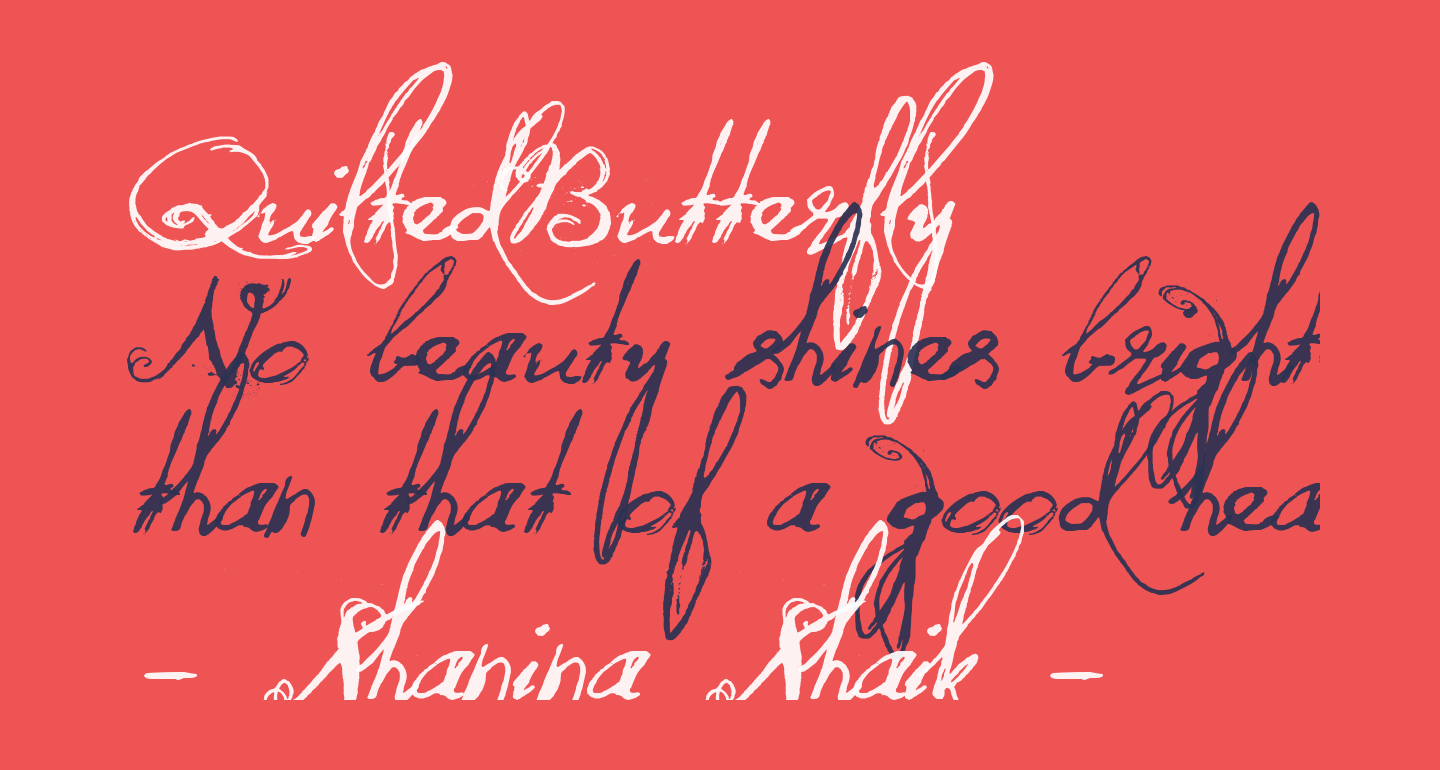 QuiltedButterfly