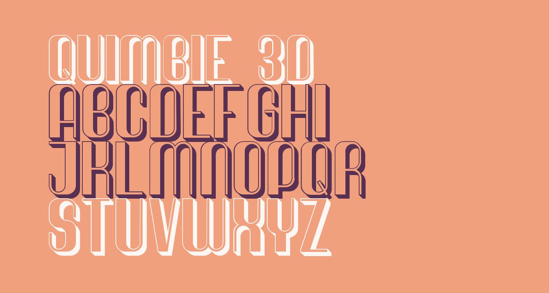 Quimbie 3D