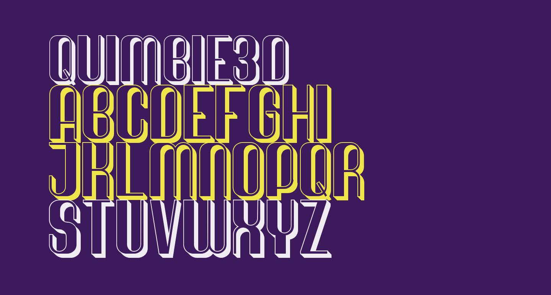 Quimbie3D