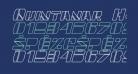 Quintanar Hollow Italic