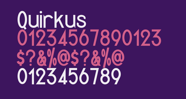 Quirkus