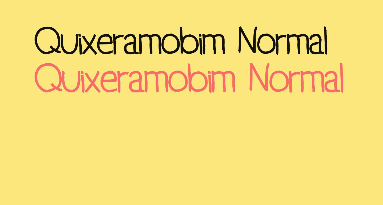 Quixeramobim Normal