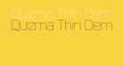 Quizma Thin Demo