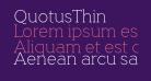 QuotusThin
