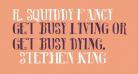 R. Squiddy Fancy
