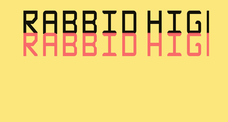 Rabbid Highway Sign Caps Narrow Regular