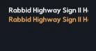 Rabbid Highway Sign II Hop