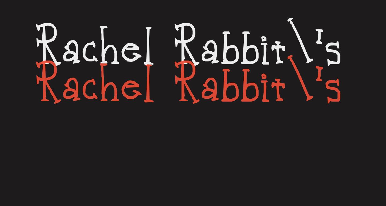 Rachel Rabbit's Lawn