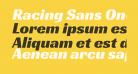 Racing Sans One