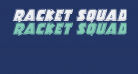 Racket Squad Bevel Italic