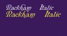Rackham Italic