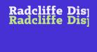 Radcliffe Display ExtraBold