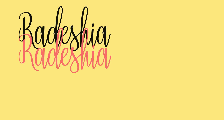 Radeshia
