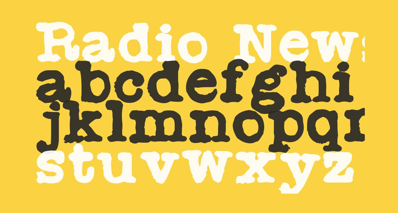 Radio Newsman