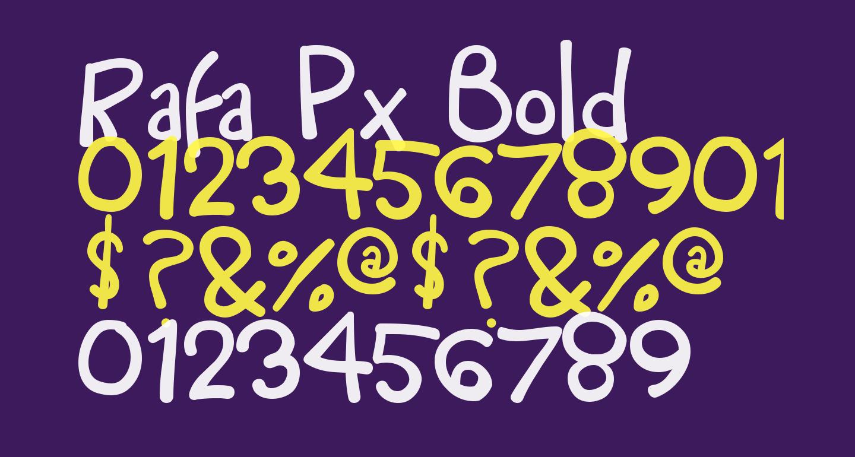 Rafa Px Bold