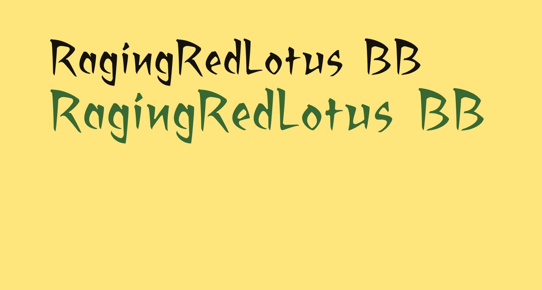 RagingRedLotus BB