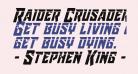 Raider Crusader Laser
