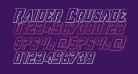 Raider Crusader Outline