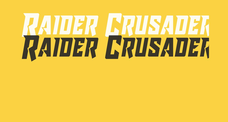 Raider Crusader Semi-Straight