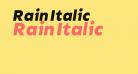 Rain Italic