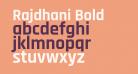 Rajdhani Bold