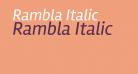 Rambla Italic
